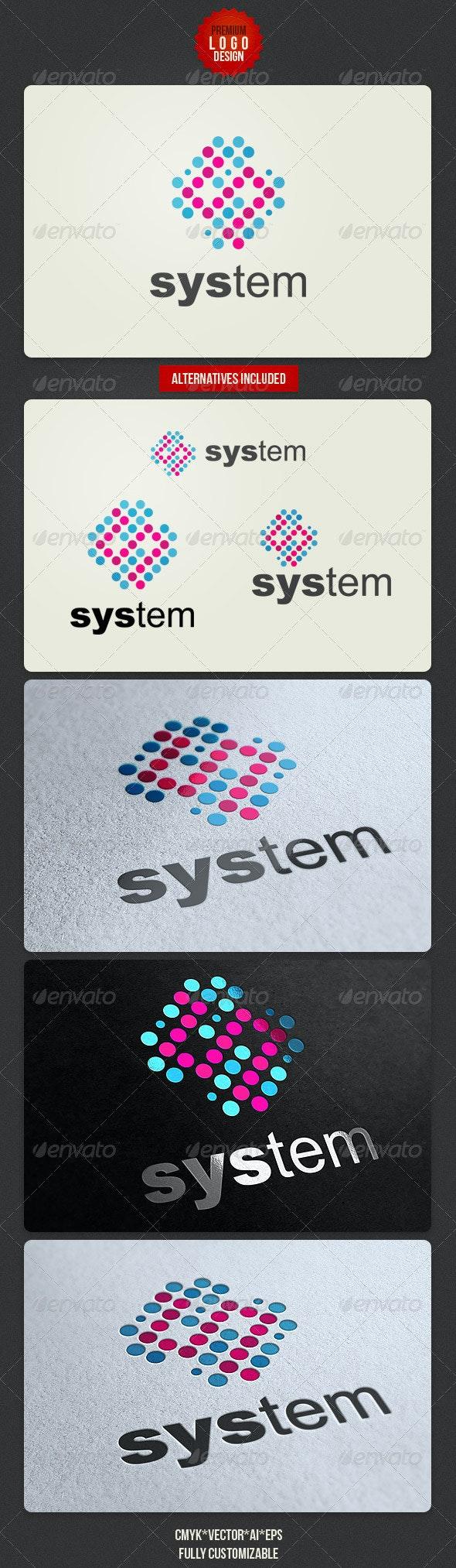 Clean Technology Logo Design - Abstract Logo Templates