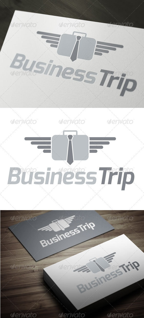Business Trip - Objects Logo Templates