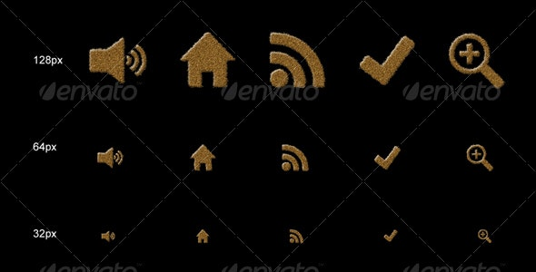 Artistic Sand Icons - Web Icons