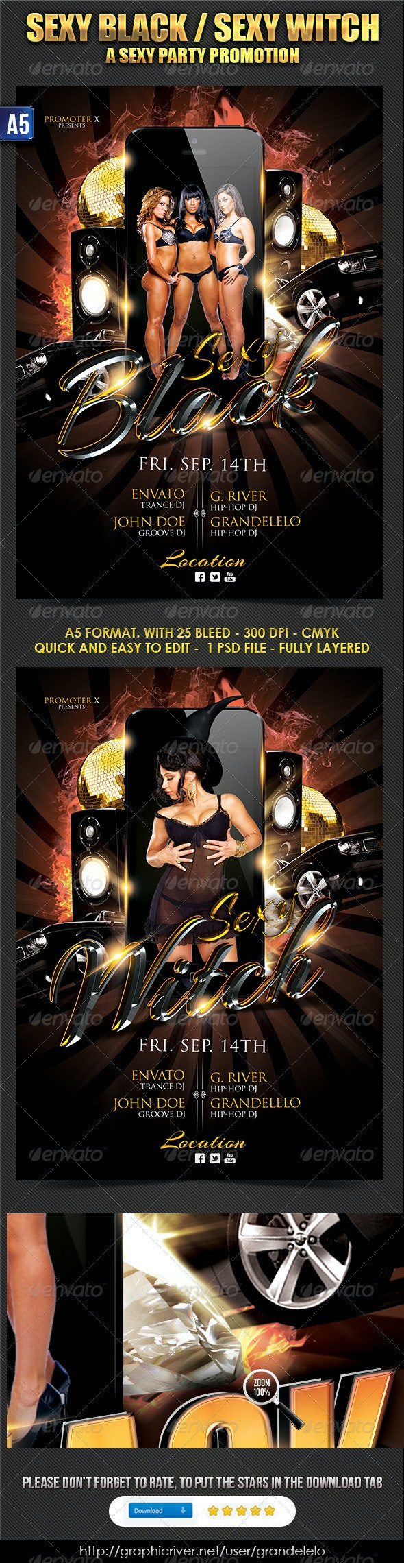 Sexy Black Party - Clubs & Parties Events