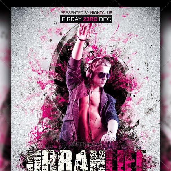Urban Life Party Flyer