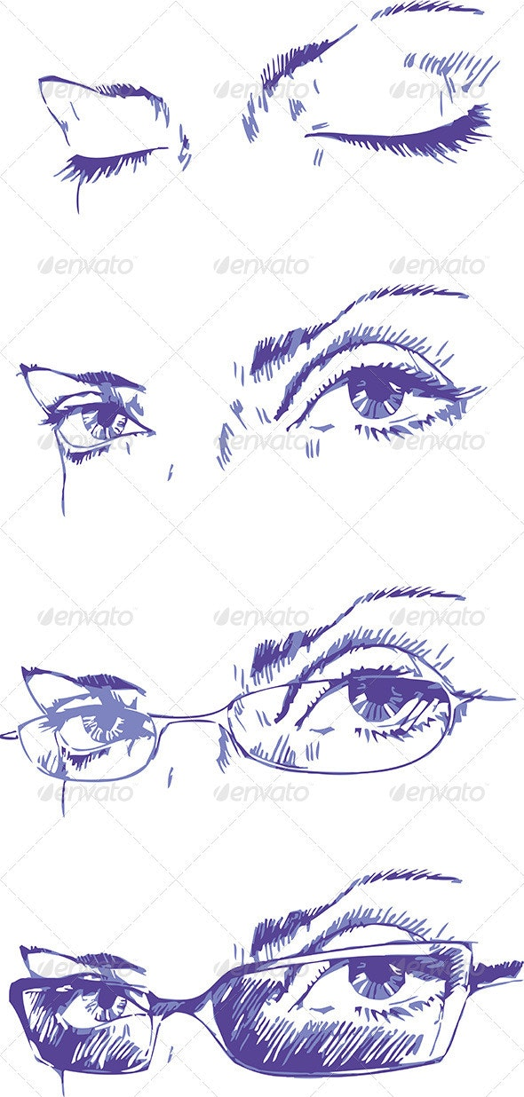 Eyes Set - Health/Medicine Conceptual