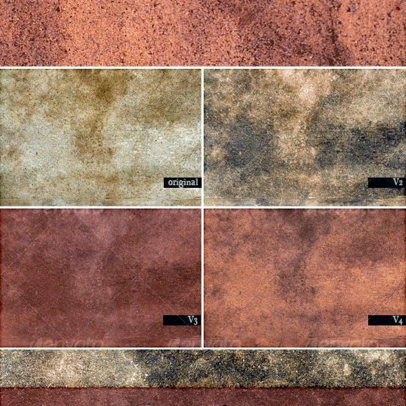 8x4 Concrete Textures & 4 tileable version
