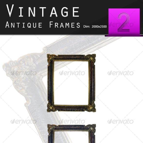 Golden Antique Frame
