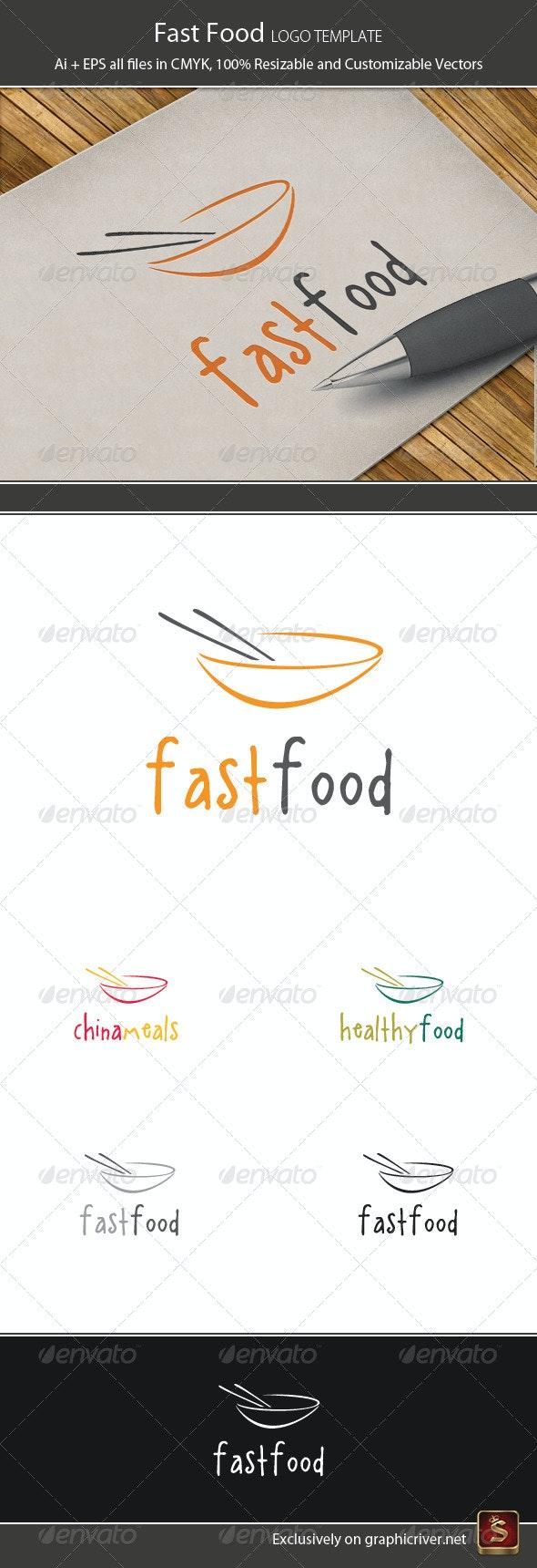 Fast Food Logo Template - Food Logo Templates