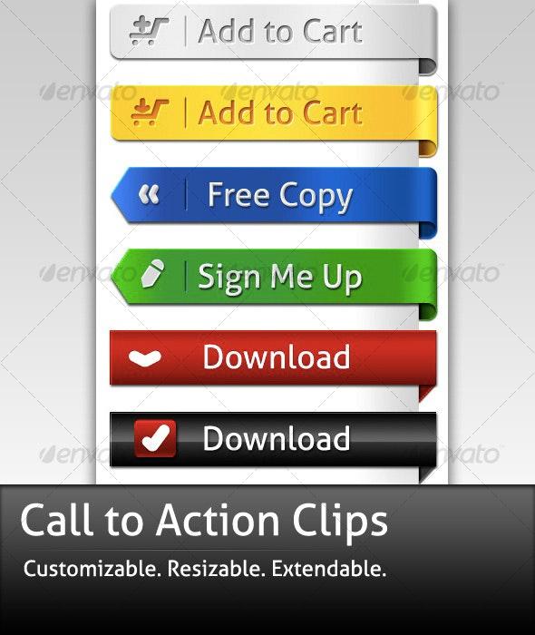 CTA Clips - Miscellaneous Web Elements