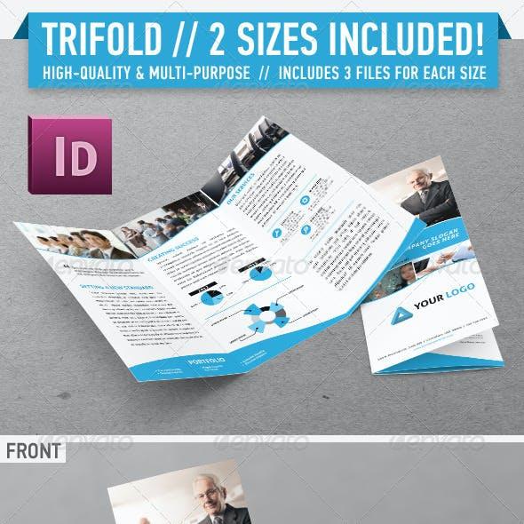 Clean Modern Trifold Brochure - Vol. 1