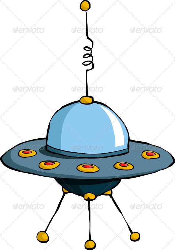 Flying Saucer - Man-made Objects Objects