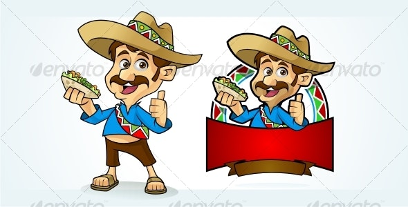 El Mexican Guy - People Characters