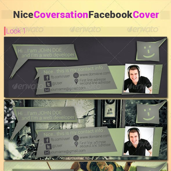 Nice Coversation FB cover