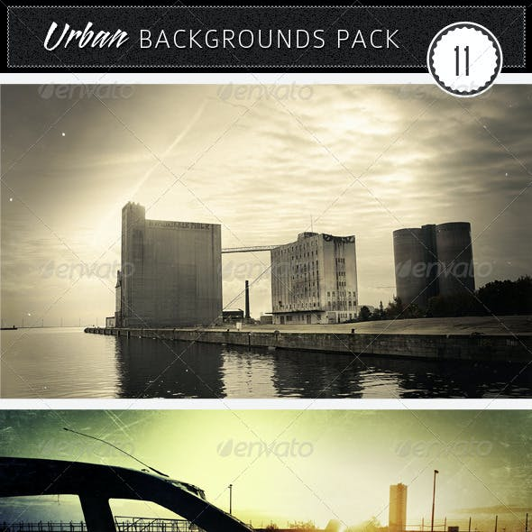 Urban Backgrounds Pack 11
