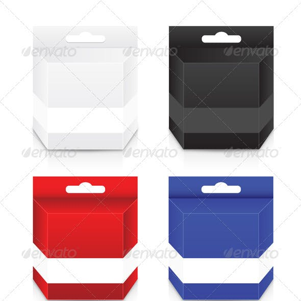 Blank Cartridge Box Template