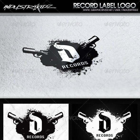 Record Label Logo Template