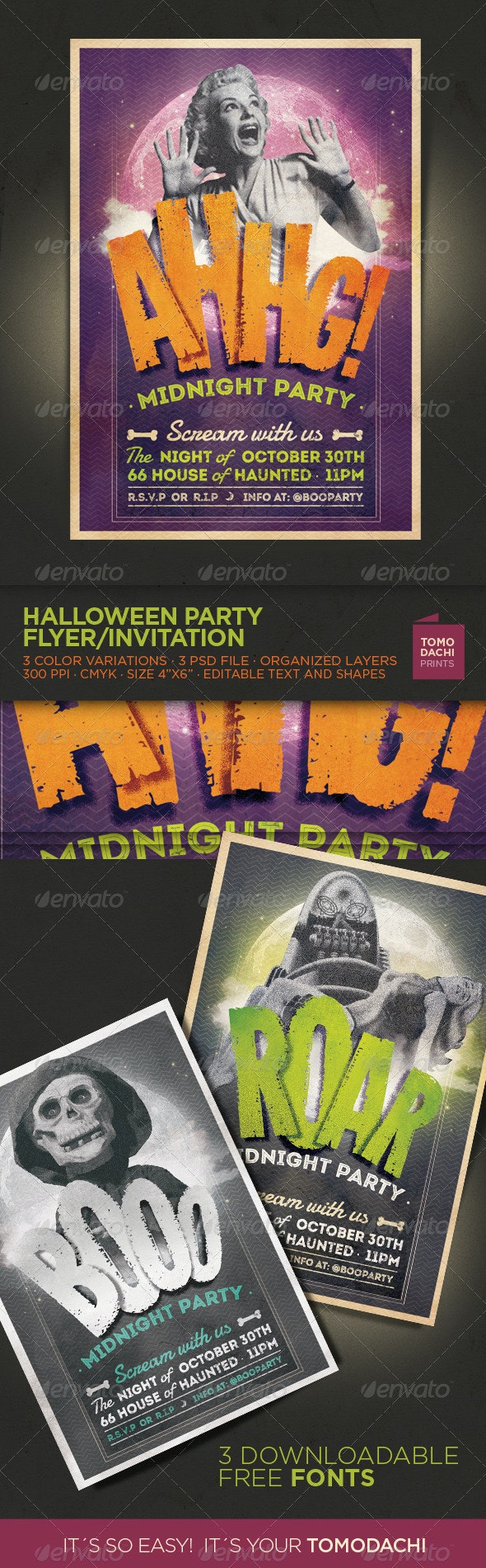 Halloween Flyer / Invitation - Events Flyers
