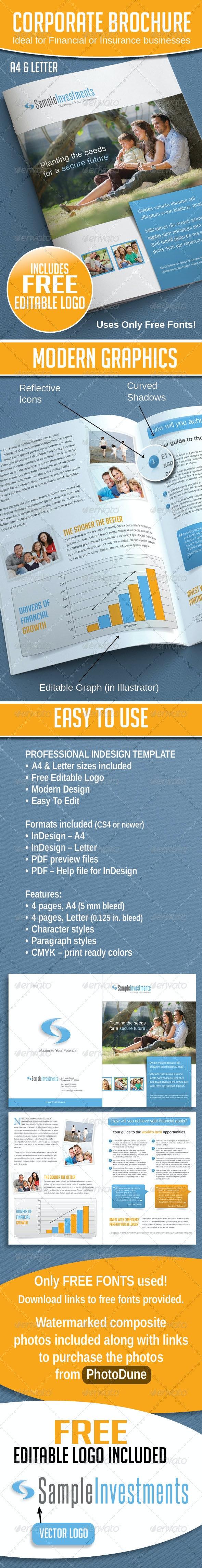 Corporate Brochure - Brochures Print Templates
