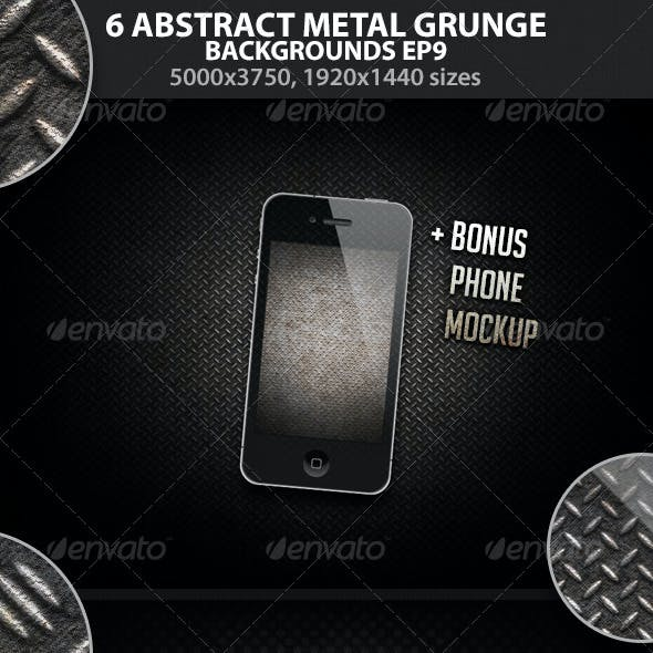 Abstract Metal Grunge Backgrounds EP 9