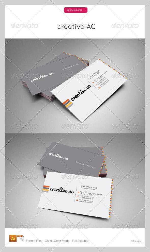 Corporate Business Cards 113 - Corporate Business Cards