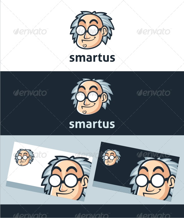 Smartus Professor Logo Template - Humans Logo Templates
