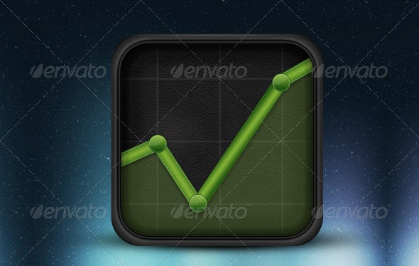 Chart Icon - Business Icons