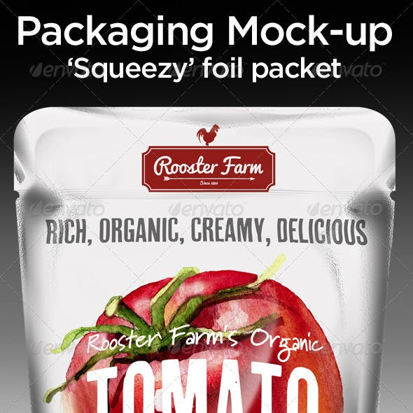 Squeezy Foil Packet