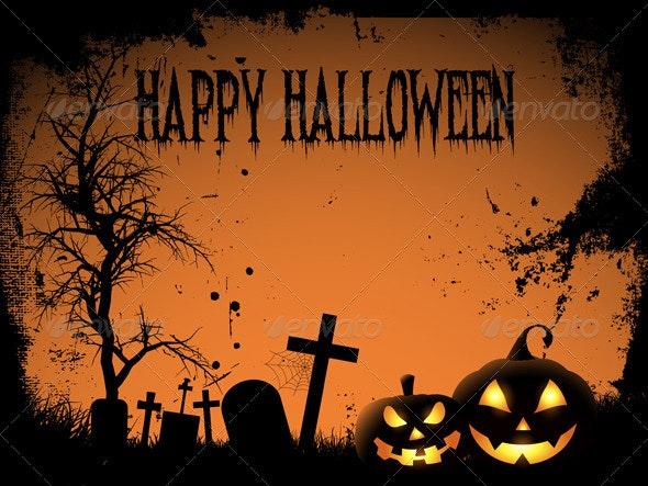 Happy Halloween background - Halloween Seasons/Holidays