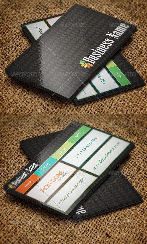 Web Designer Business Card - Creative Business Cards