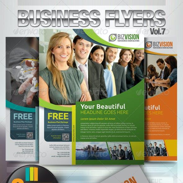 Simple & Clean Corporate Flyer Vol.7
