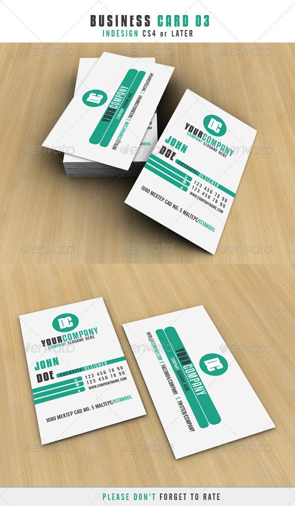 Business Card 03 - Corporate Business Cards