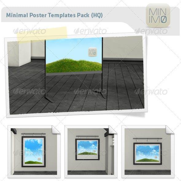 Minimal Poster Templates Pack (HR)