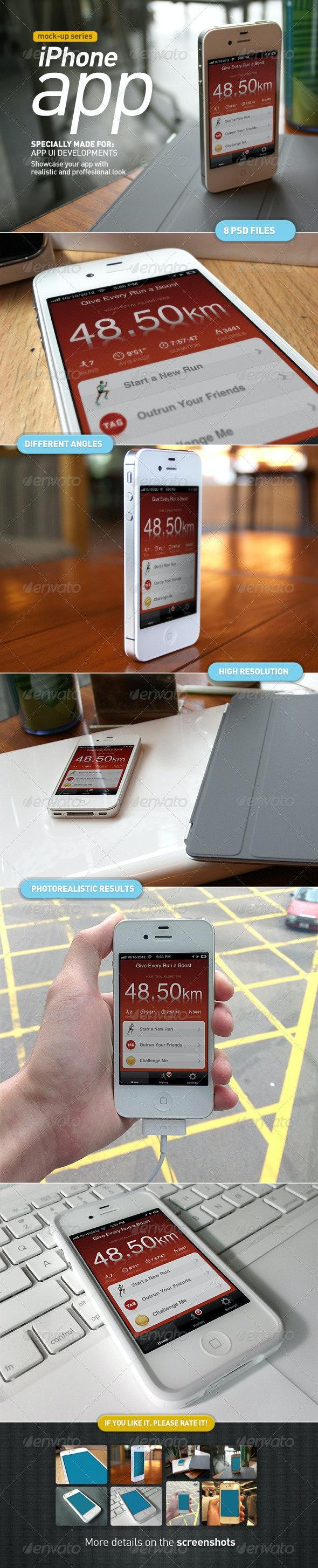 Mobile App | Device Screen Mock-Up - Mobile Displays