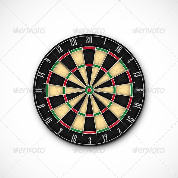 Professional Dartboard for Steel Tip Darts