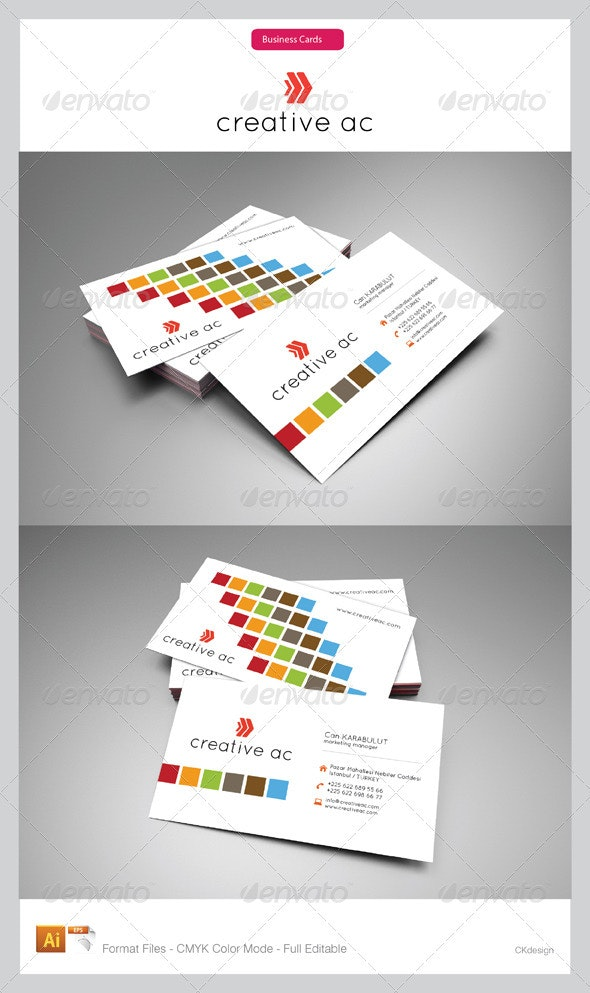 corporate business cards 116 - Creative Business Cards