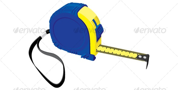 tape measure - Objects Vectors