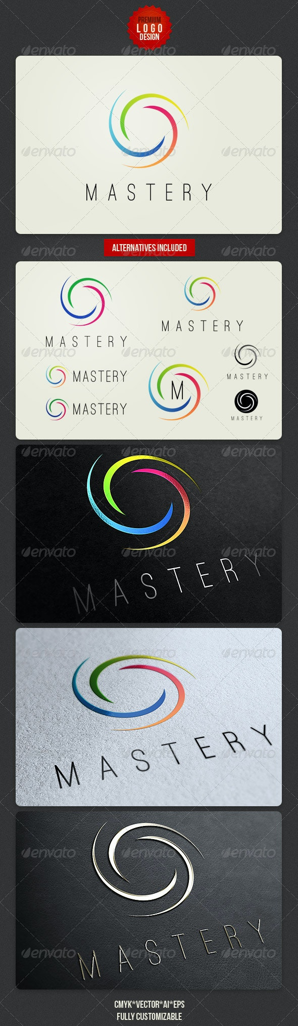 Minimalistic Clean Logo Design - Abstract Logo Templates