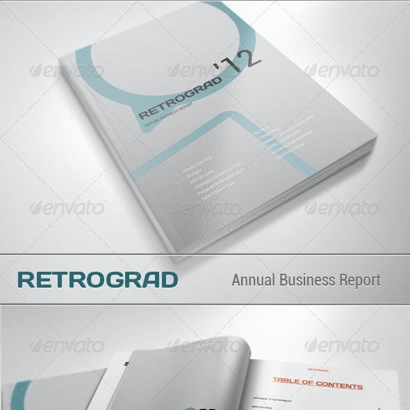 Retrograd - Annual Business Report