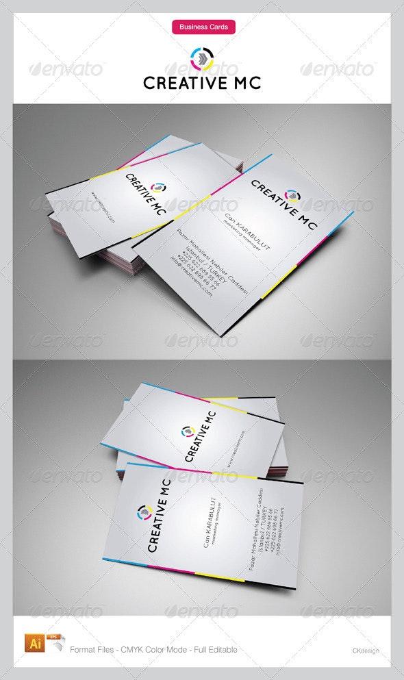 Corporate Business Cards 110 - Corporate Business Cards
