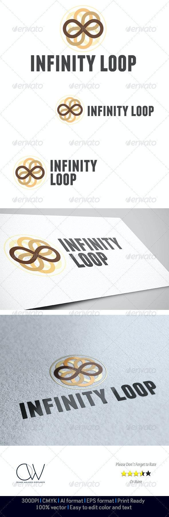 Infinity Loop Logo - Abstract Logo Templates