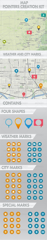 Map Pointers Creation Kit - Conceptual Vectors
