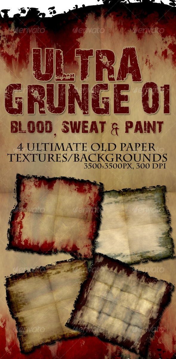 Ultra Grunge Old Paper - Paper Textures