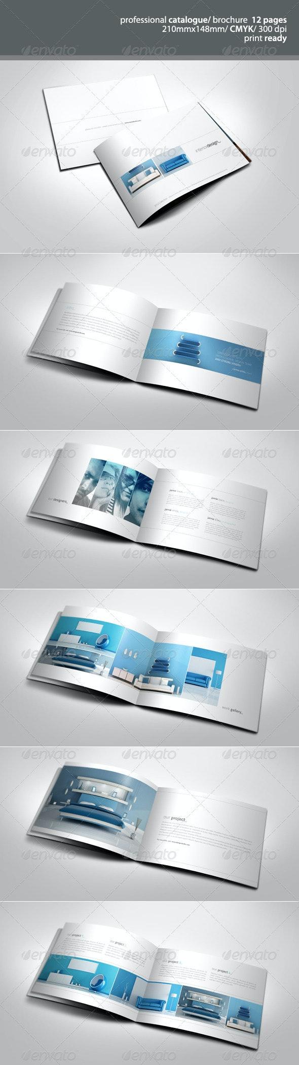 Simple & Clean A5 Catalogue - Catalogs Brochures