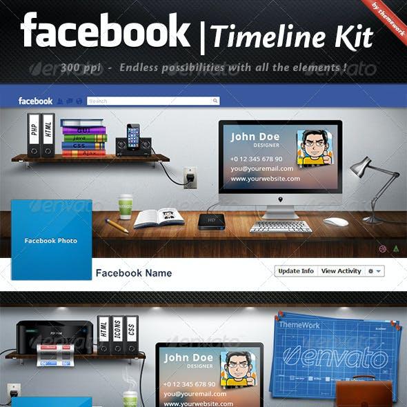 FB Timeline Kit