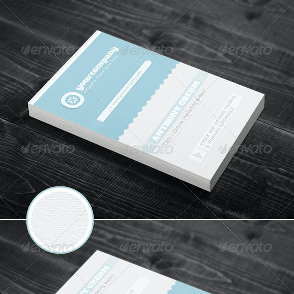 Simple & Clean Corporate Business Card