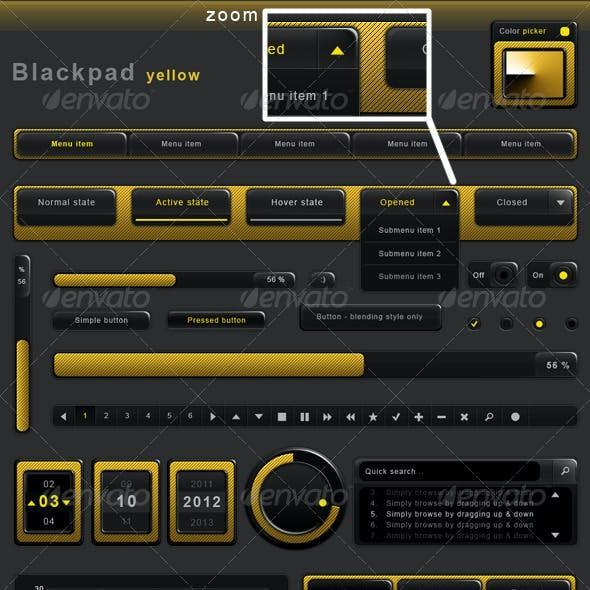 Blackpad UI