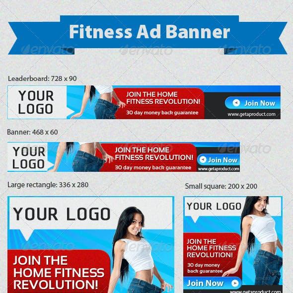 Fitness Banner Set Version 2
