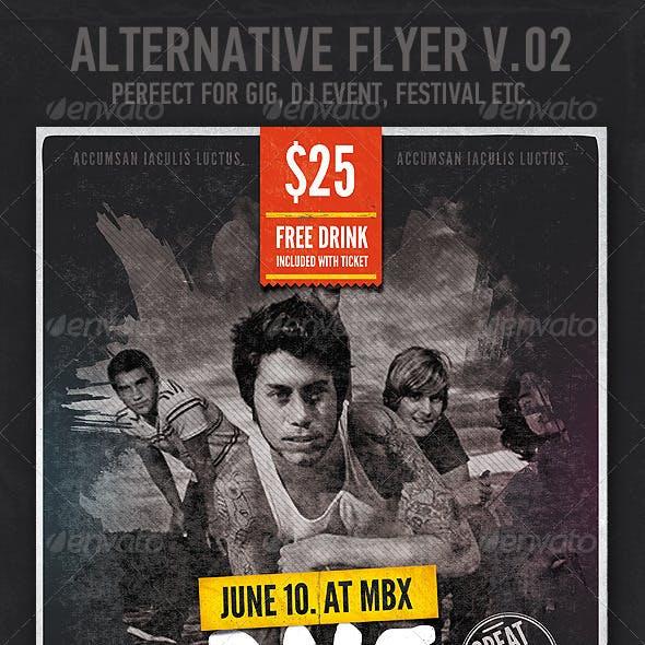 Alternative / Grunge Flyer or Poster v.02