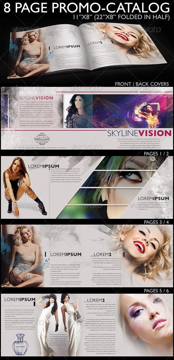 8 Page Promo Catalog  - Catalogs Brochures