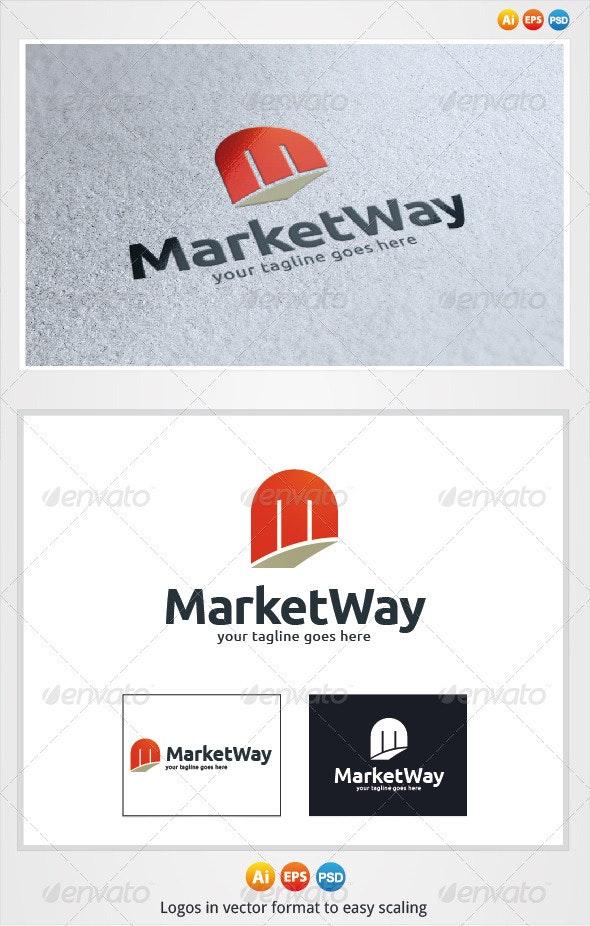 Market Way Logo - Letters Logo Templates