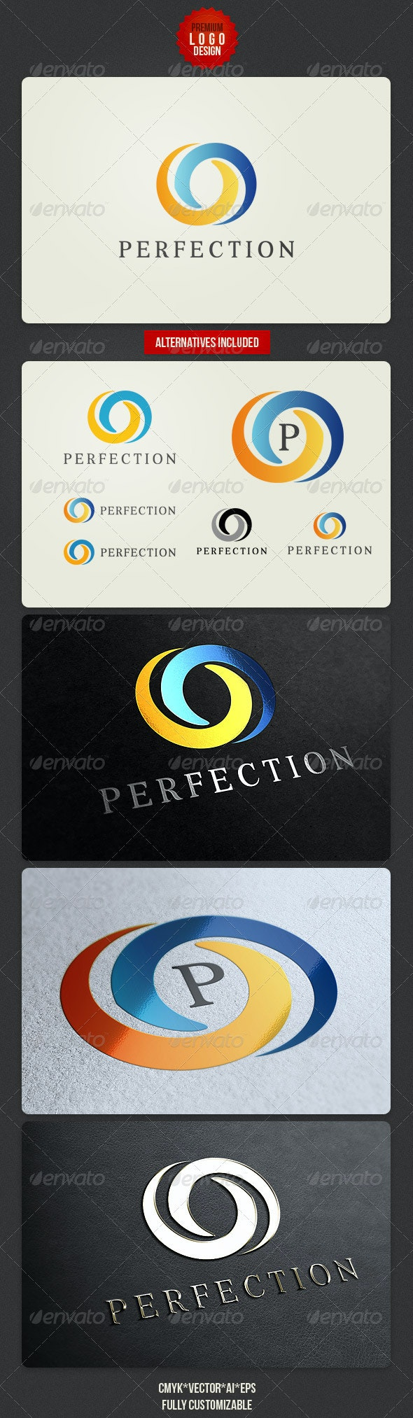 Classy and Clean Logo Design - Abstract Logo Templates