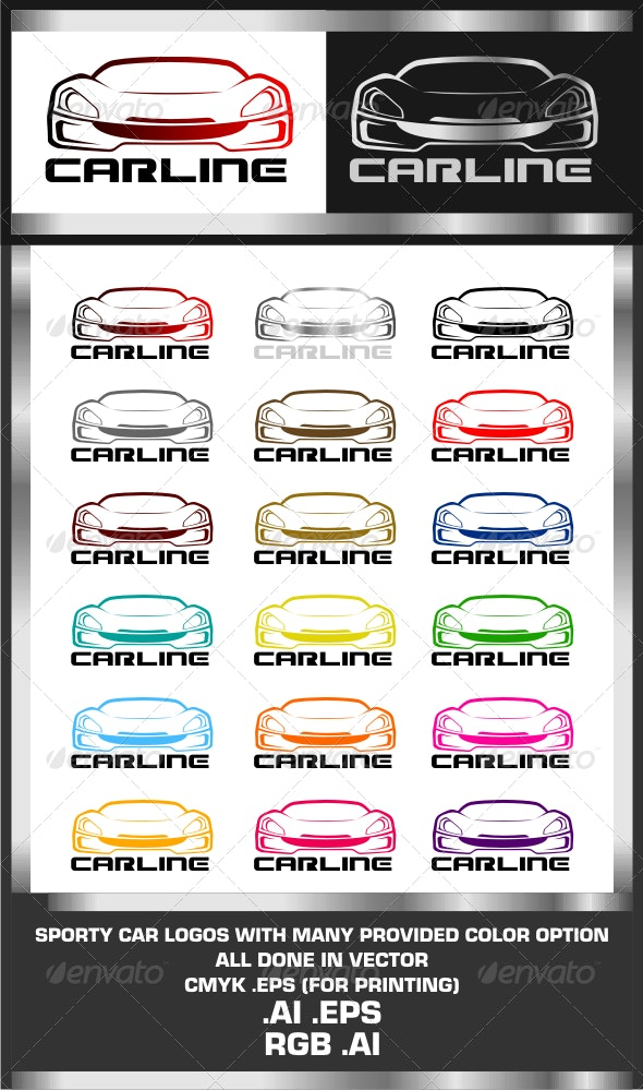 CarLine Logo Template - Objects Logo Templates