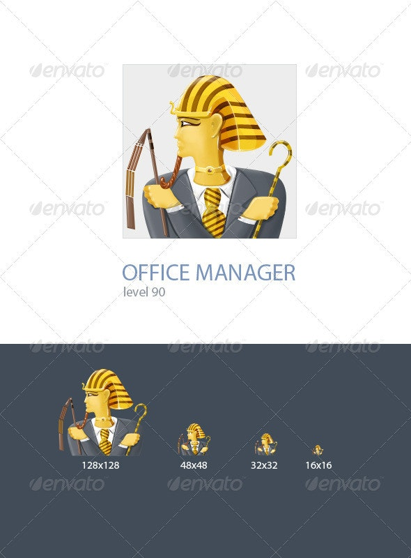 Office manager  - Business Icons